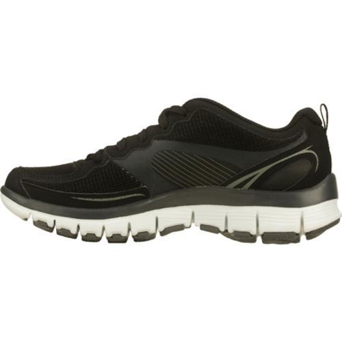 Women's Skechers Tone Ups Fitness Flex Black/White