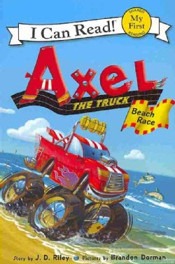 Axel the Truck: Beach Race (Paperback)