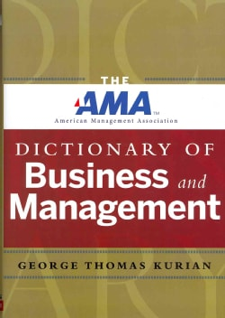 The AMA Dictionary of Business and Management (Hardcover)