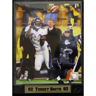 Baltimore Ravens Torrie Smith Photo Plaque (9 x 12)