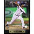 Texas Rangers Yu Darvish Photo Plaque (9 x 12)