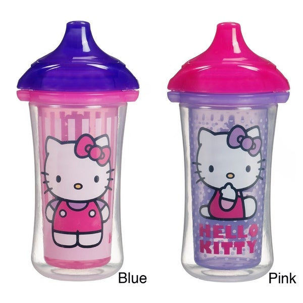 Munchkin Hello Kitty Click Lock Insulated 9-ozunce Sippy Cup (Set of 2) 10044670