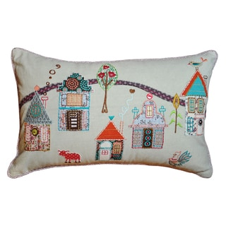 Cottage Home Prairie Decorative Pillow