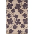 Paule Marrot Hand-tufted Cuero Floral New Zealand Wool Rug