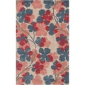 Paule Marrot Hand-tufted Crystal Floral New Zealand Wool Rug