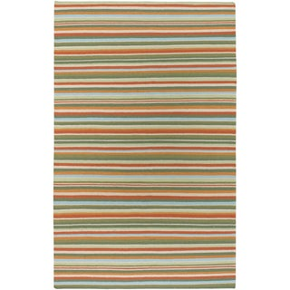 B. Smigh Home Hand-woven Cascade Wool Rug