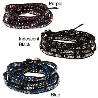 Cubic Zirconia Wrap Fashion Bracelet