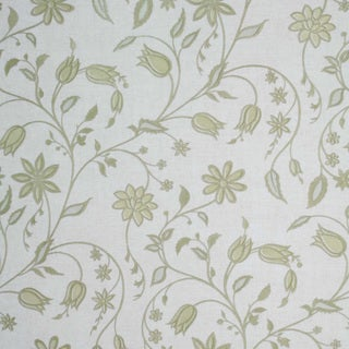 Brewster Gold Contemporary Floral Wallpaper
