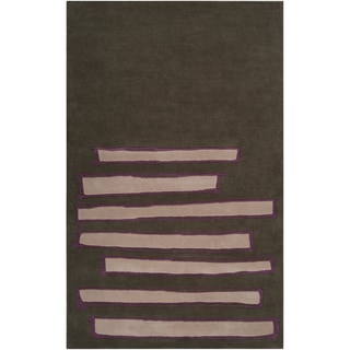 Noah Packard Desing Hand-tufted Briaroaks Abstract Plush Wool Rug