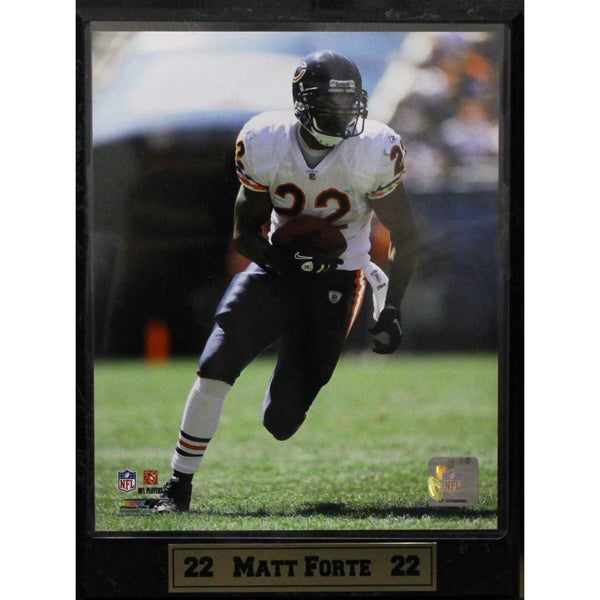 Chicago Bears Matt Forte Photo Plaque (9 x 12)