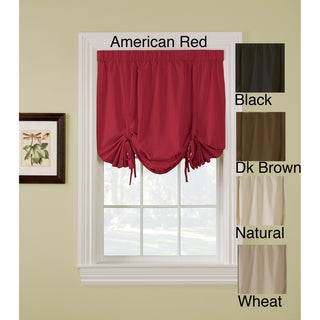 Regency 63-inch Rod Pocket Tie-up Shade