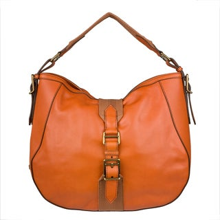 Burberry Medium Leather 'Ashwood' Hobo