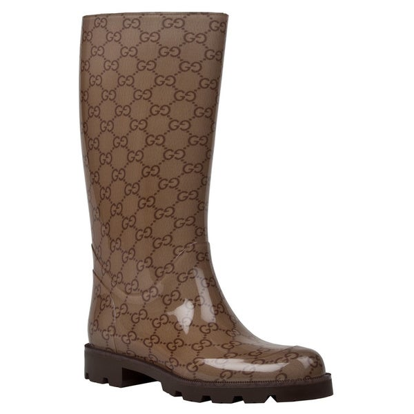 Gucci Women's Edimburg GG Flat Rainboot
