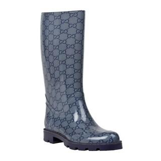Gucci Women's 'Edimburg GG' Flat Rainboots