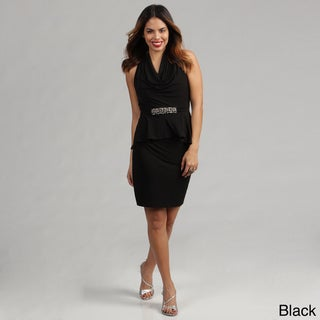 London Times Size 6 Cocktail Jersey Dress