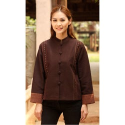 Cotton 'Thapae Exotic' Jacket (Thailand)