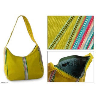 Cotton 'Ixil Friendship' Medium Shoulder Bag (Guatemala)