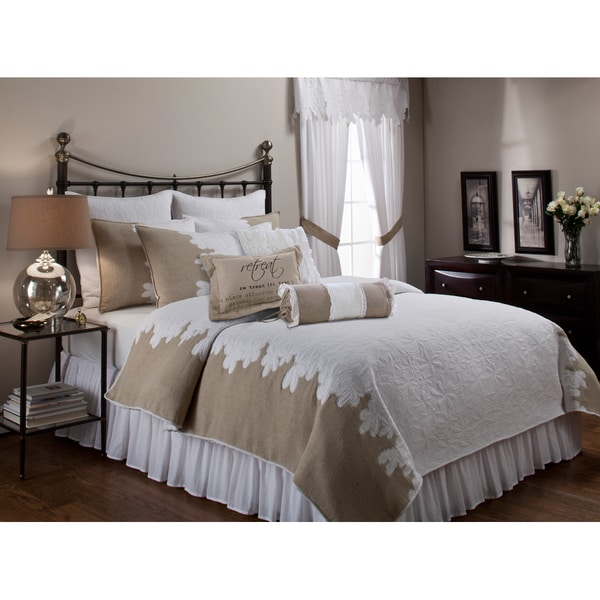 Roslyn Quilt and Separate Bedding Accessories