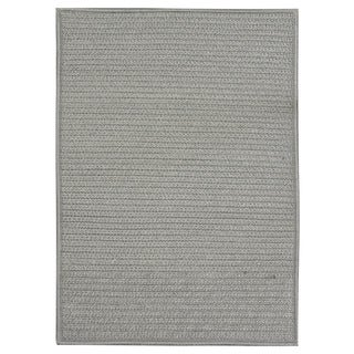 Nautical Grey Braided Rug