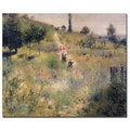 Pierre Renoir 'The Path Through the Long Grass 1875' Canvas