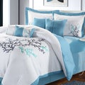 Coral Reef Embroidered 8-piece Comforter Set
