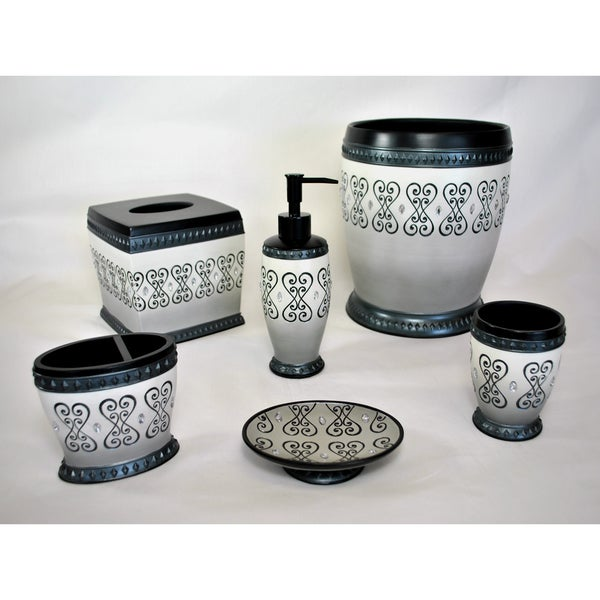 Sherry Kline Abingdon Bath Accessory 6-piece Set
