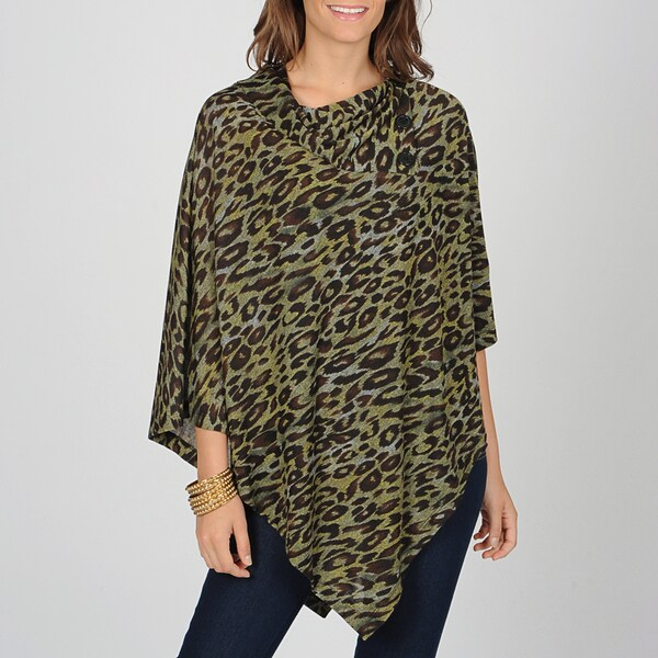 AnnaLee + Hope Women's Envelope Collar Poncho