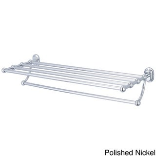 Water Creation BA-0001 Multi-Purpose Bath Train Rack for Classic Bathroom