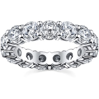 14k White Gold 2 1/2ct TDW Diamond Eternity Wedding Band (H-I, SI1-SI2)