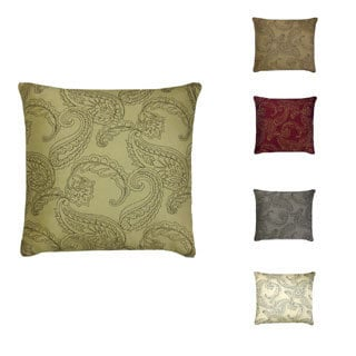 Huntington Embroidered 20-inch Feather Down Pillow