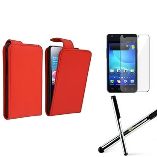 BasAcc Case/ Screen Protector/ Stylus for Samsung� Galaxy S2 i777 AT&T