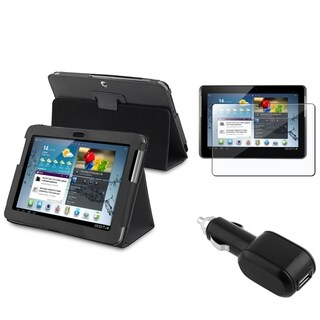 BasAcc Case/ Screen Protector/ Charger for Samsung� Galaxy Tab 2 10.1