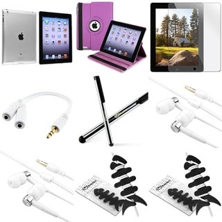 BasAcc BasAcc Case/ Headset/ Splitter/ Protector/ Stylus for Apple iPad 2/ 3/ 4
