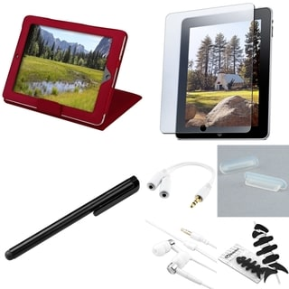 BasAcc Case/ Headset/ Stylus/ Splitter/ Protector for Apple iPad 1