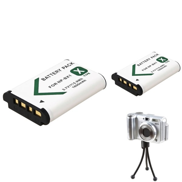 INSTEN Mini Tripod/ Li-ion Battery for Sony NP-BX1