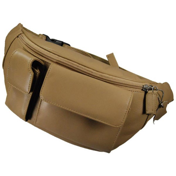 Romano Leather Large Fanny Pack