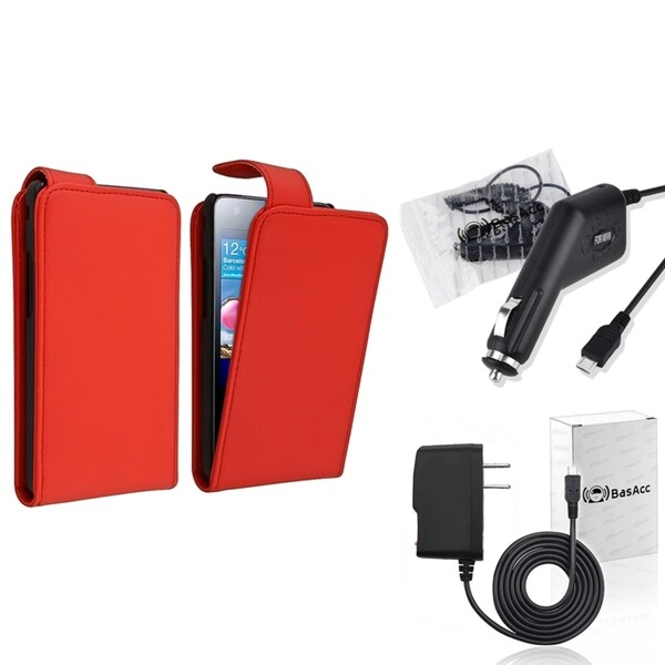 BasAcc Case/ Travel/ Car Charger for Samsung© Galaxy S2 i9100