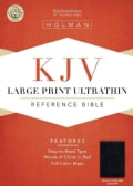 Holy Bible: King James Version, Black Genuine Leather, Ultrathin Reference Bible (Paperback)