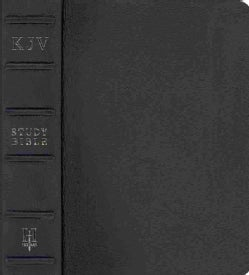 Holman KJV Study Bible: King James Version, Black Premium Cowhide (Paperback)