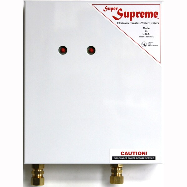 Super Supreme 8 Kw ElectricTankless Water Heater