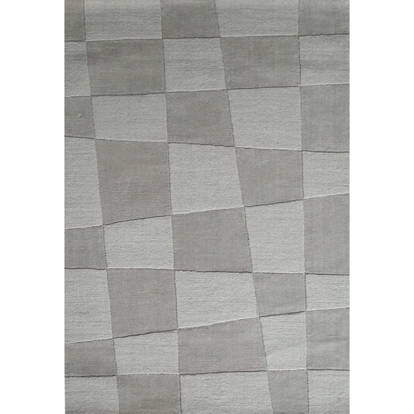Jovi Home Hand-tufted Off-white Wool Rug (5' x 8')
