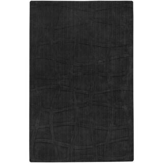 Candice Olson Loomed Carrollton Abstract Plush Wool Rug