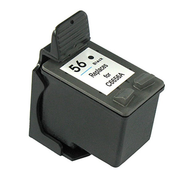 HP 56 Black Ink Cartridge (Remanufactured)