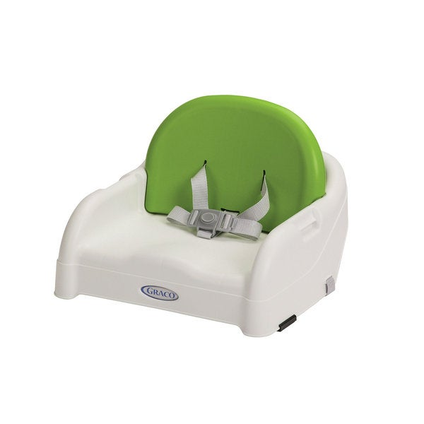 Graco Adjustable-back Toddler Booster Chair in Parrot Green