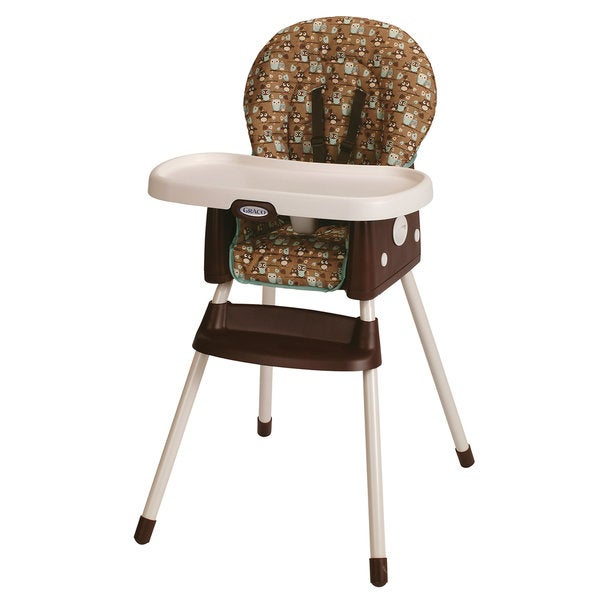 Graco Simple Switch 2-in-1 Highchair in Little Hoot