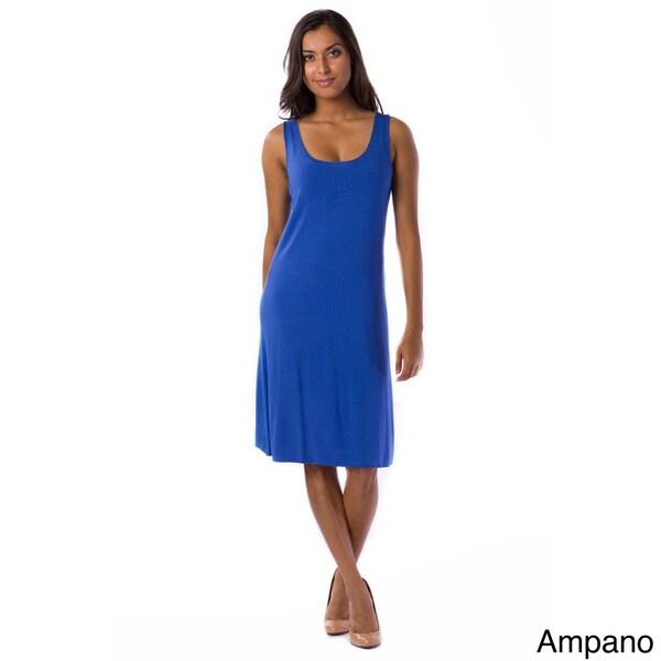 AtoZ Modal Tank Dress