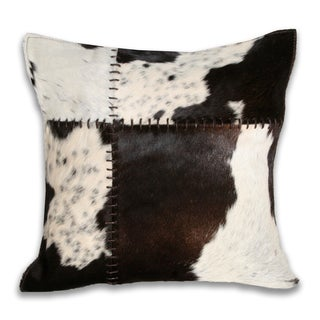 Marlo Lorenz Cow Hide 16-inch Decorative Pillow