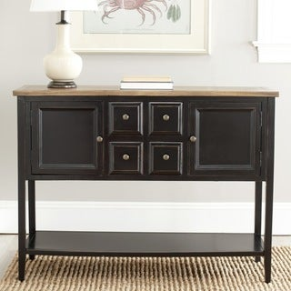 Safavieh Charlotte Black Storage Sideboard