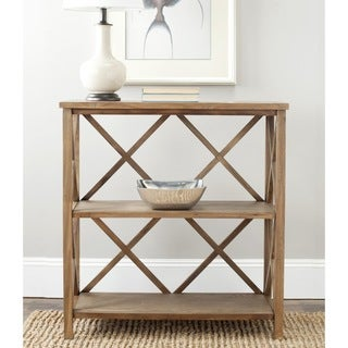 Safavieh Liam Oak Finish Bookcase