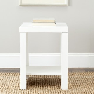 Safavieh Lahoma White End Table